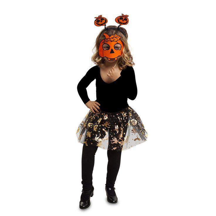 Déguisement Citrouille Tutu Enfant #déguisementsenfants #costumespetitsenfants #nouveauté2016