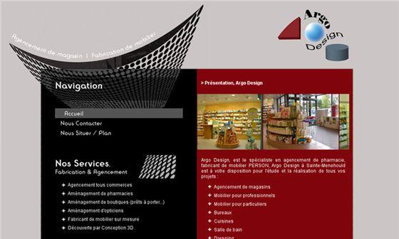 ArgoDesign   services d'agencement et de fabrication de mobilier - spécialiste agencement de pharmacie #SainteMenehould     - Sainte-Menehould, Marne, Champagne-Ardenne