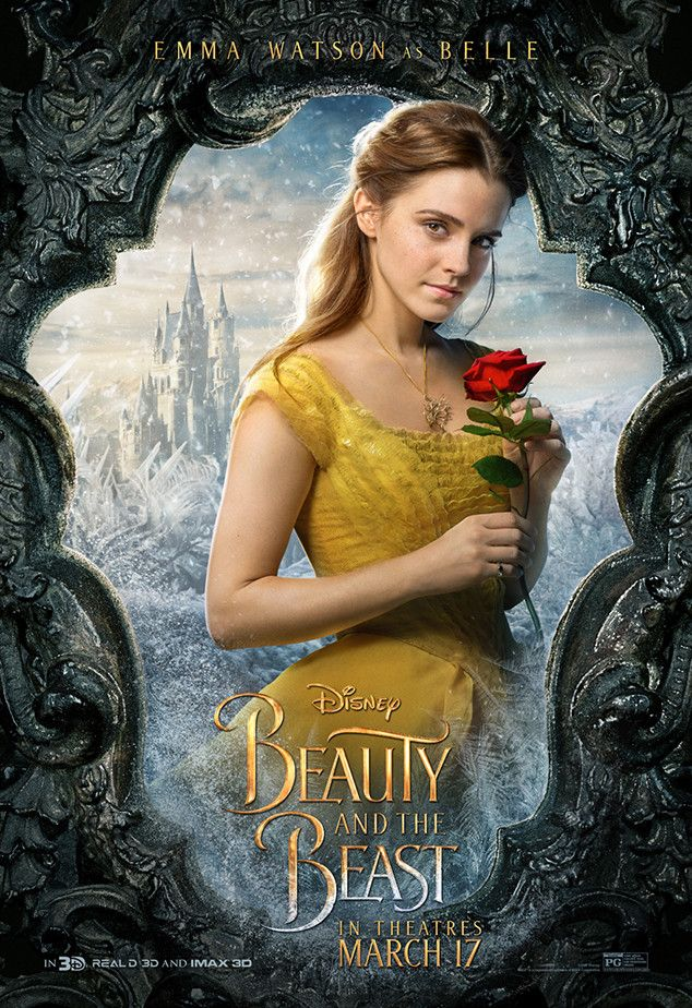 Emma Watson from Beauty and the Beast Character Posters  The actress appears as Belle.