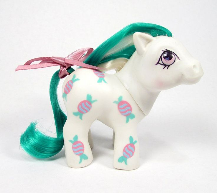 Vintage G1 Sweetie Baby My Little Pony UK Exclusive ✦ Baby Candy ✦ Adorable | eBay
