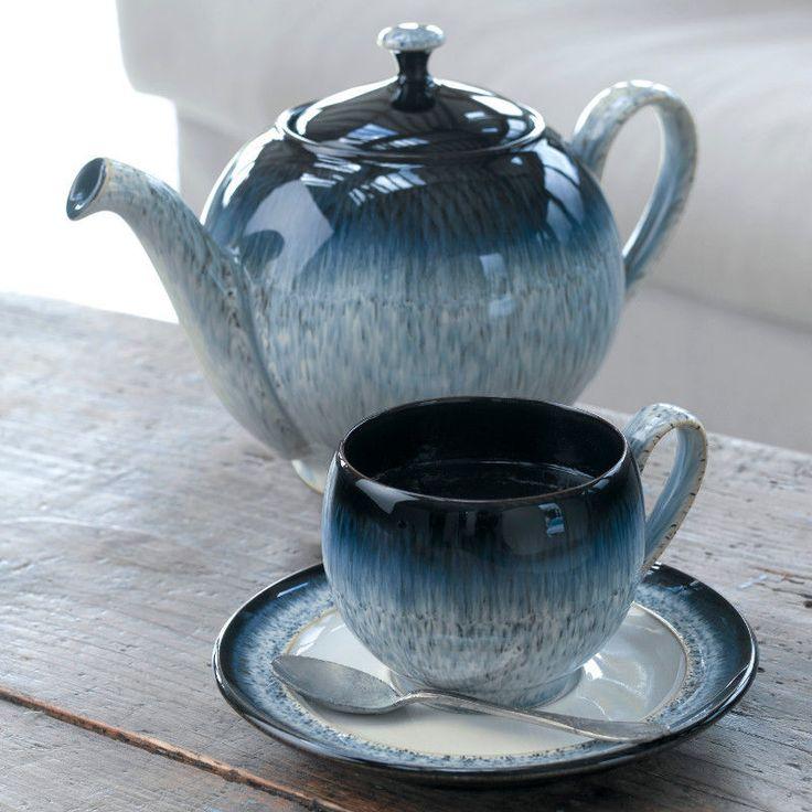 Denby Pottery Halo Teapot | eBay