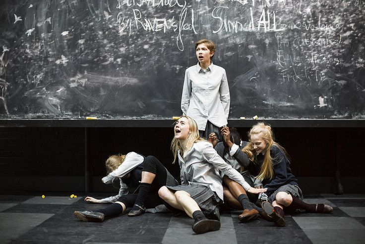 whishawnews Scenes from The Crucible, with Ben Whishaw and Saoirse Ronan among the cast.  Photos: Jan Versweyveld'Angst is een venijnig gif'...