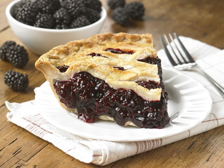 "Similar to Chloe's Berry Cobbler (okay, here it's pie) that ""screamed good and sweet."""
