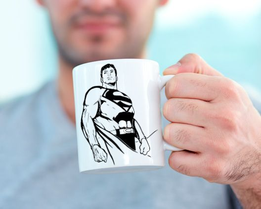 ¿Fan de Superman?Personaliza tu taza ;)