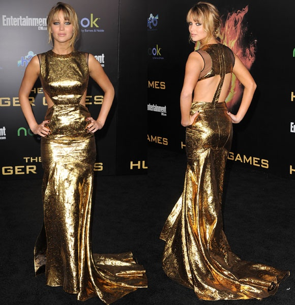 Jennifer Lawrence in Prabal Gurung. Check out her style evolution on Wonderwall: http://on-msn.com/GEc0gl: Celebrity Style, Hunger Games, Fashion Form, Fashion Obsession, Games 155, Dresses Gowns, Fashion Evolution, Jennifer Lawrence Style, Gurung Dresses