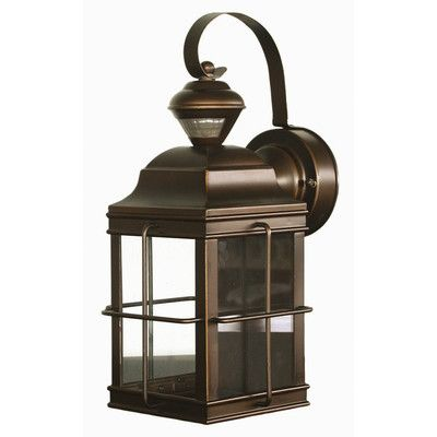 Found it at wayfair motion activated 1 light outdoor wall lantern security light