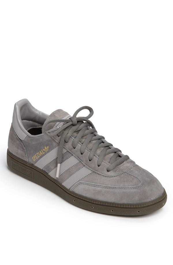 adidas spezial // grey - I'm wearing these right now. They're great looking and comfortable.