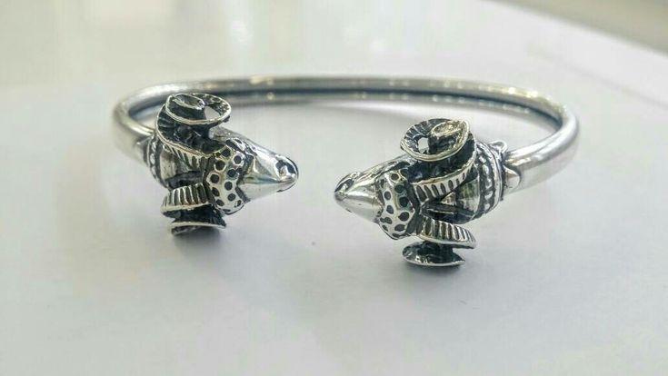 #aries#rams#bracelet#museumcopy#greekjewelry#animaljewellery #etsy #silver #greece #handmade#thelittleshopAthens http://etsy.me/2CLKEHG