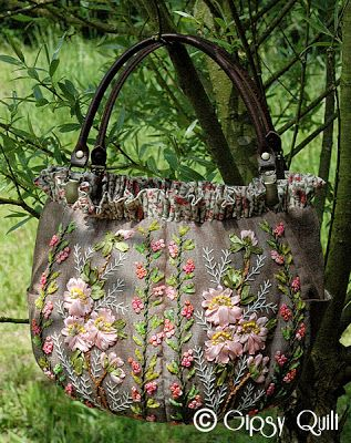 Gipsy Quilt: Esprit des jardins...