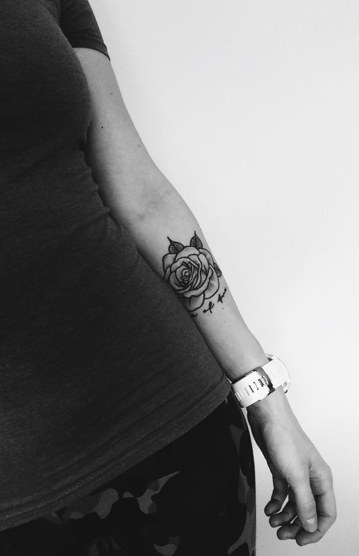 One of two  #tattoo #rose #twin