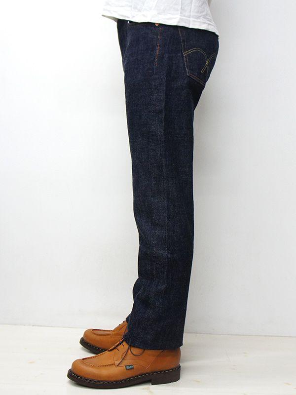 画像2: FULLCOUNT(フルカウント)#1108 STRAIGHT LEGS(スリムストレート)/Indigo Blue(インディゴブルー)ワンウォッシュ【裾上げ無料】