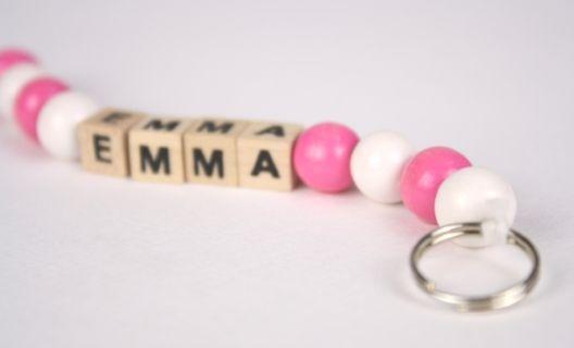 Små nyckelringar, 4-pack