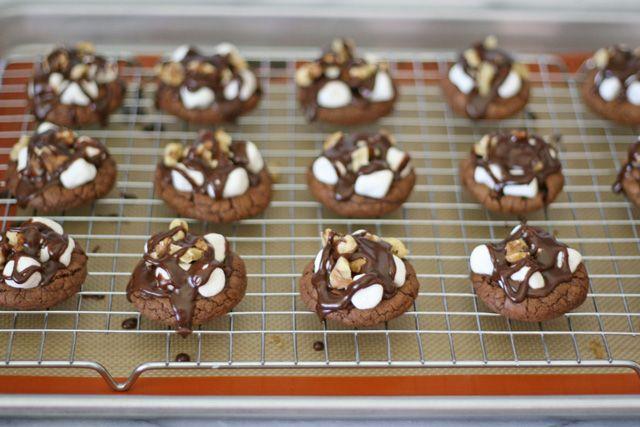 Rocky Road Cookies! YUM! I'm in HEAVEN!!
