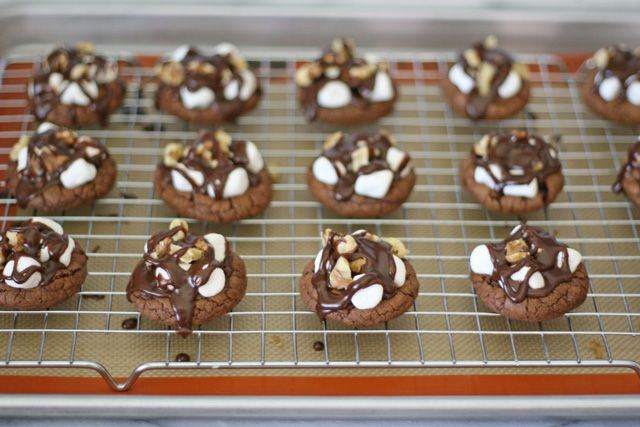 Rocky Road Cookies! YUM! I'm in HEAVEN!!