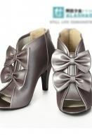 Wong обувь серые ботильоны