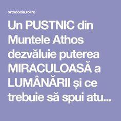 Un PUSTNIC din Muntele Athos dezvăluie puterea MIRACULOASĂ a LUMÂNĂRII și ce trebuie să spui atunci când o aprinzi! VEZI AICI.. | ROL.ro