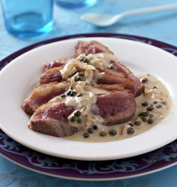 Magrets de canard sauce poivre vert - Recettes de cuisine Ôdélices