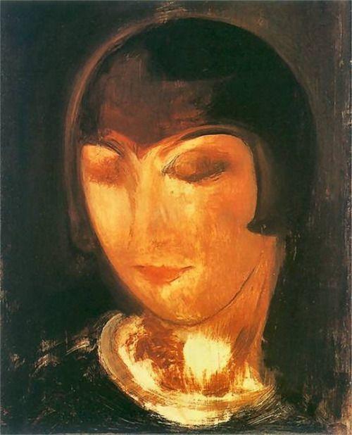 Kiki de Montparnasse by Gustaw Gwozdecki, 1920.