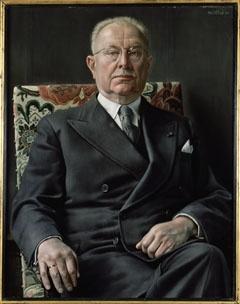 Portret van de heer T.J. Twijnstra (Portrait of Mr T.J. Twijnstra), 1955  Carel Willink (1900-1983) / Collection T.J. Twijnstra, Bilthoven, The Netherlands