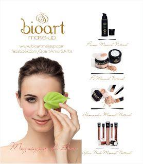 Maquiagem Orgânica - Biocosméticos e maquiagens orgânicas com ingredientes naturais e biodegradáveis que atuam como alimento nutritivo para a pele, preservando a saúde pessoal, o respeito com animais e com o planeta.