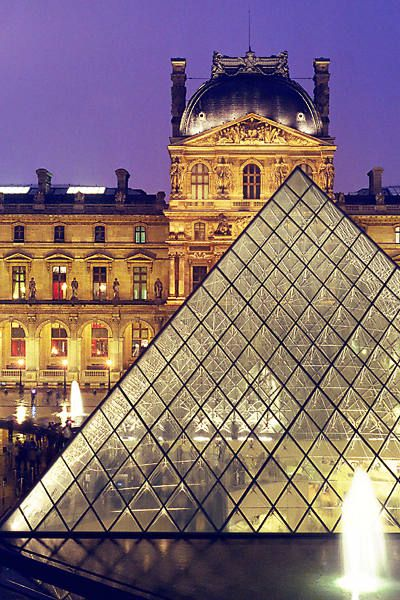 Paris, the Louvre. I want to go back now that I'm old enough to appreciate what I'm seeing.