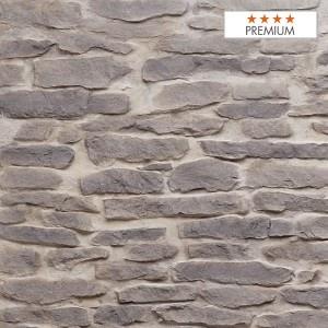 """Wandpaneel Santiago Grey Polyester HD Nomastone - Höhe 1300 mm x Breite 3300 mm - Pack 1 x 1 p - Qualität """"Premium"""""""