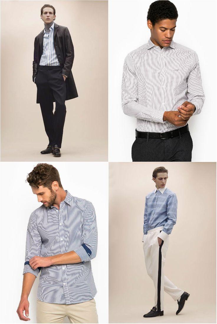 Модные мужские рубашки осень-зима 2017-2018