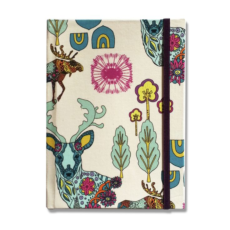 Notebook • Colorfull Deer - Florence Livres