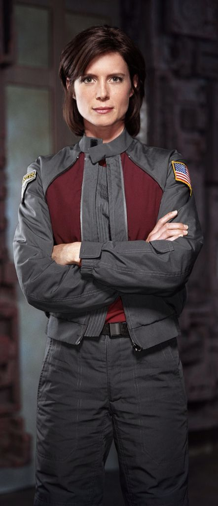 "Women Of Stargate: Tori Higginson as Elizabeth Weir in ""Stargate Atlantis"""