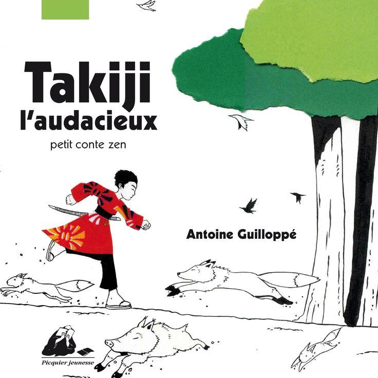 Takiji L'audacieux - Antoine Guillopé; Varsta 4+.  Povestea lui Takiji este povestea unui copil care creste descoperind natura si invata confruntand lucrurile cele mai marete. Antoine Guillopé descrie prin text si imagine un suflu din spritiul japonez, curaj, perseverenta si fragilitate. Takiji este curaj si infrunta monstrul adormit sub pamant salvand astfel copacii vechi de sute de ani.