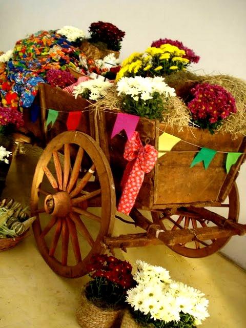 Idéias para Decoração de Festa Junina...