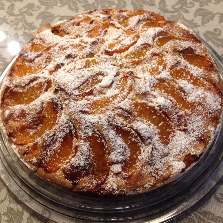 Canned peach cake. My mama's original recipe of cherry or apricot cake but well drained canned fruits work just fine.