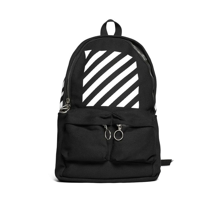 Diagonals backpack from the F/W2016-17 Off-White c/o Virgil Abloh collection in black