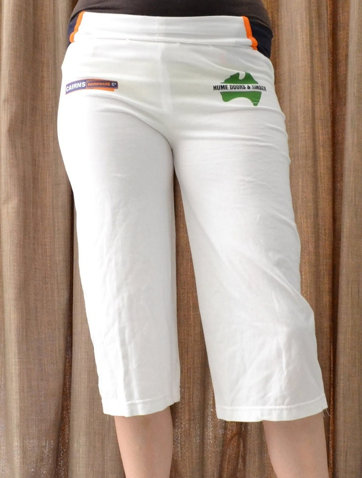 yoga pants t shirt upcycle diy clothing pinterest