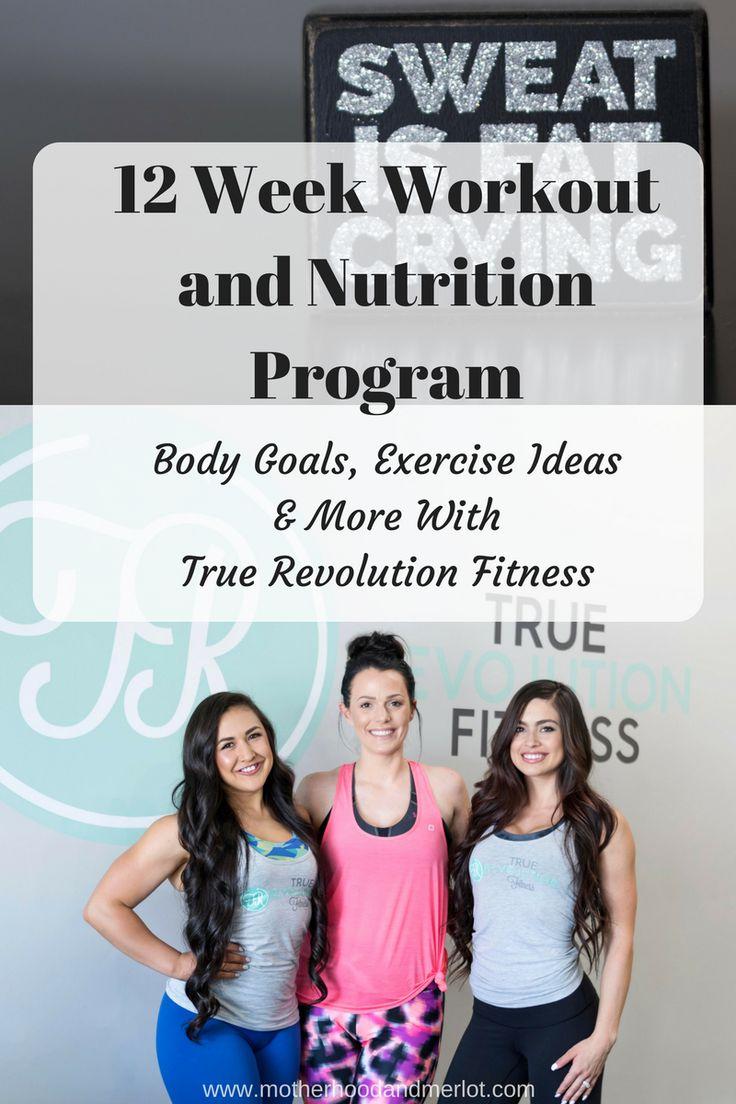 12 Week Workout and Nutrition Program W/ True Revolution – Motherhood & Merlot
