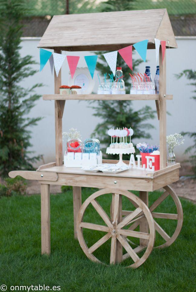 carrito de dulces, carrito dulce, carrito de chuches, comunión , fiestas, eventos, madrid