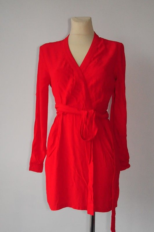 Asos Petite czerwona mini sukienka r. 36 - vinted.pl