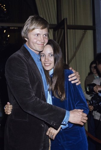 Jon Voight and Marcheline Bertrand circa 1970s - Angelina Jolie's parents