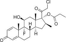 Clobetasol propionate (Clobex)