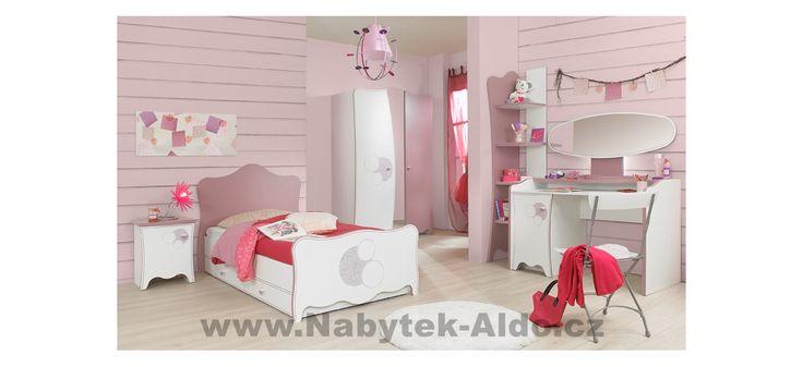 Elegantní dětský pokoj pro holku