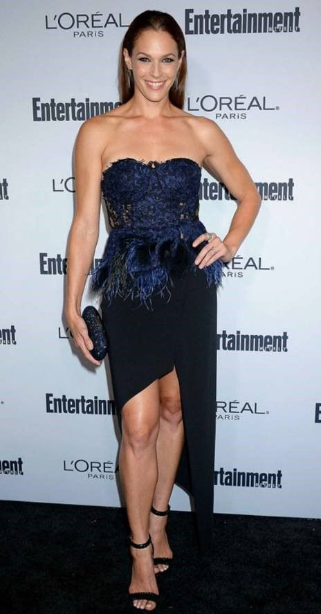 Actress Amanda Righetti at the 2016 Entertainment Weekly Pre-Emmy party in a Cristallini corset top.