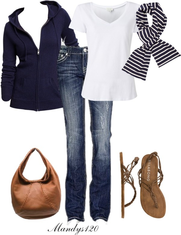 """Stripe"" by mandys120 on Polyvore"