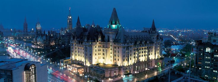 Fairmont Château Laurier hotel, located in downtown Ottawa, Canada, at 1 Rideau Street. For more information on Ottawa accommodation visit http://www.ottawatourism.ca/en/visitors/ottawa-hotels