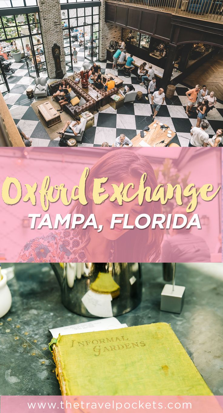 Oxford Exchange has been around in Tampa for awhile, but we only recently…