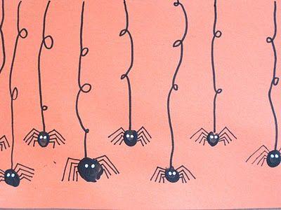 Fingerprint spider cards
