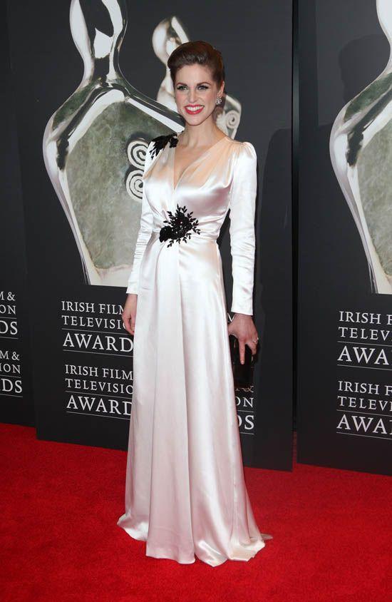 Gorgeous Dawn Fitzgerald dress!