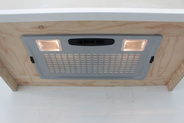 How to make your own wooden range hood fan for a Braun Fan Insert from build.com at thehappyhousie.com-41