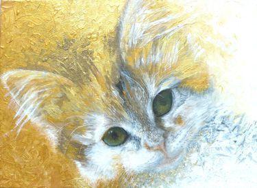 "Saatchi Art Artist Maria Westra; Painting, ""SOPHIETJE 1"" #art"