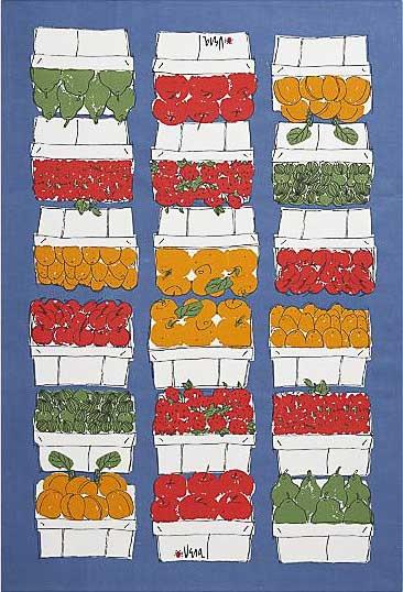 Cool linen dish towel