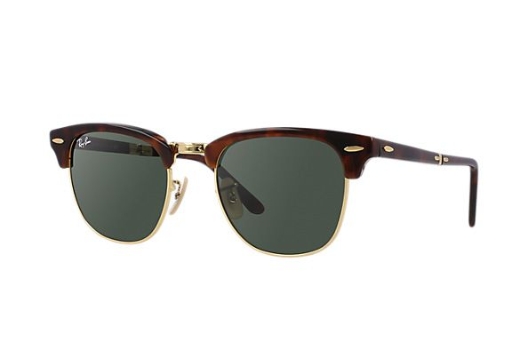 Ray-Ban RB2176 901    51-21 Clubmaster Folding  Sunglasses | Ray-Ban USA